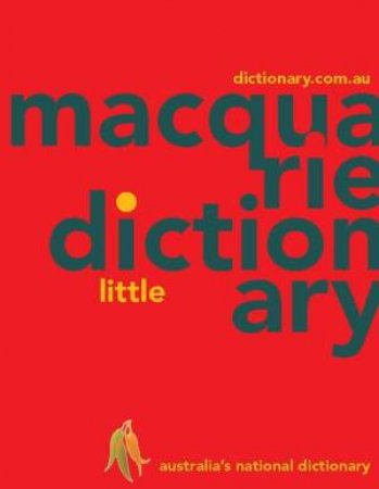 Macquarie Little Dictionary (PVC) by Various