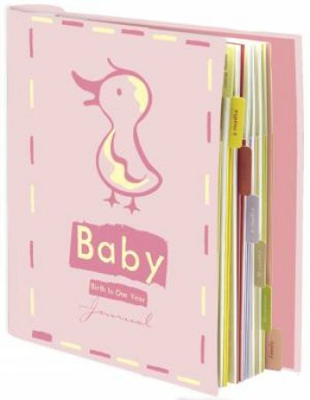 Baby Journal: Pink