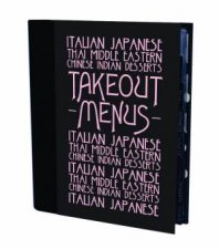 Takeout Menu Holder: Black Parisian by Various