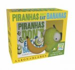 Piranhas Dont Eat Bananas Mini Book  Plush