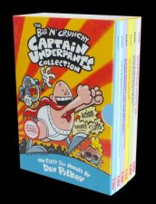 Captain Underpants Boxset 1-6 by Dave Pilkey