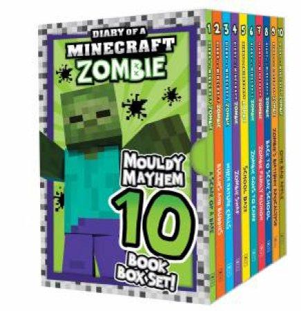 Diary of a Minecraft Zombie: Mouldy Mayhem 10 Book Box Set!