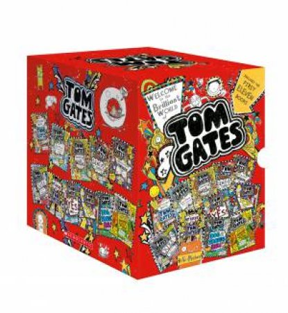 Tom Gates 1-11 Boxed Set