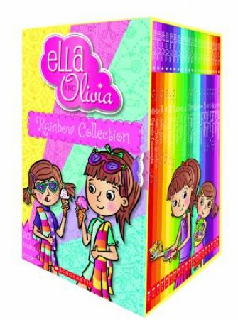 Ella And Olivia Rainbow Collection by Yvette Poshoglian