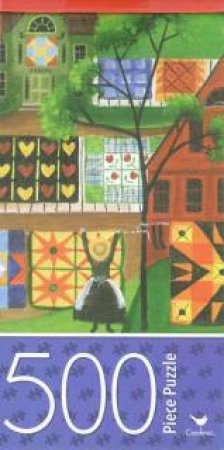 Cardinal 500 Piece Jigsaw: Mama's Colourful Quilt