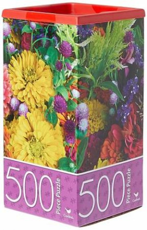 Cardinal 500 Piece Jigsaw: Summer Flowers