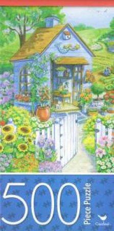 Cardinal 500 Piece Jigsaw: Garden Shed