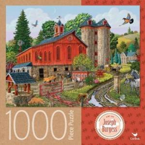 Cardinal 1000 Piece Jigsaw: Farm