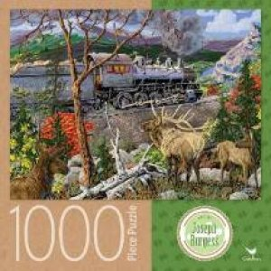 Cardinal 1000 Piece Jigsaw: Train