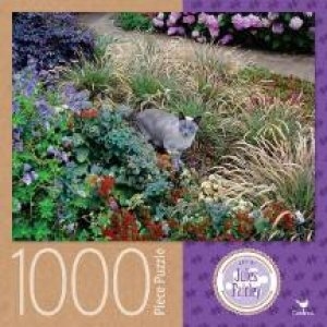 Cardinal 1000 Piece Jigsaw: Garden Cat