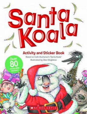 Santa Koala Activity and Sticker Book