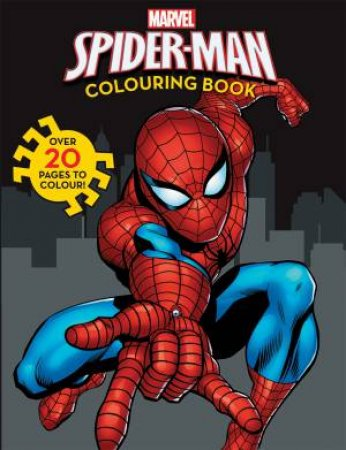 Marvel: Amazing Spiderman Colouring Book by None