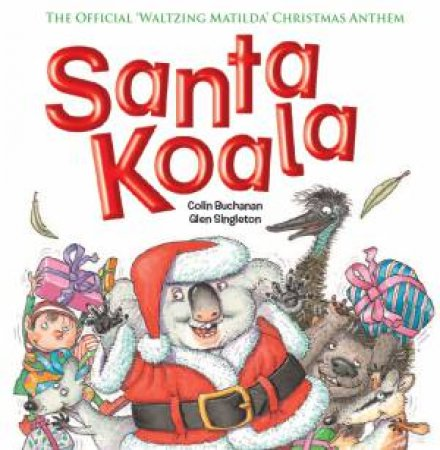 Santa Koala by Colin Buchanan