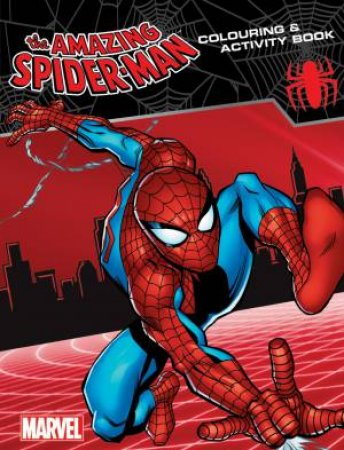 Amazing Spiderman Colouring Book