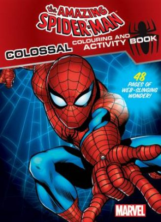 Amazing Spiderman Colouring & Activity Book by Various