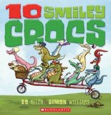 10 Smiley Crocs