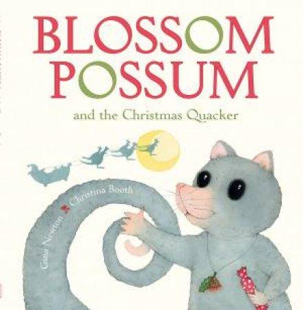 Blossom Possum and the Christmas Quacker by Gina,M Newton