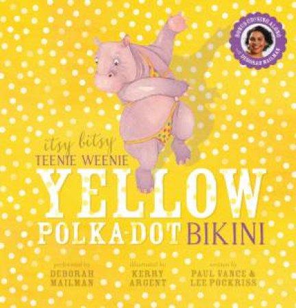 Itsy Bitsy Teenie Weenie Yellow Polka Dot Bikini + CD