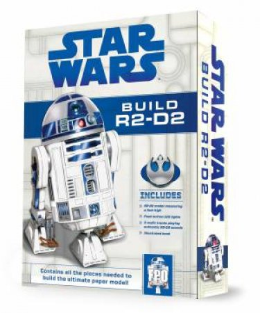 Star Wars: Build R2-D2 Paper-Craft Kit by Various