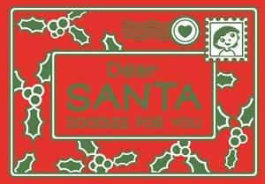 Dear Santa: Doodles for You by O'Mara Books Michael