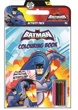 DC Batman The Brave and The Bold Activity Pack by Various