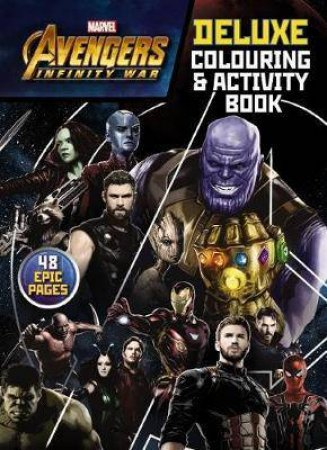 Avengers Infinity War Deluxe Colouring