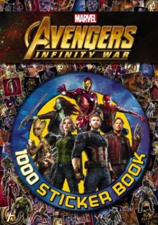 Avengers Infinity War: 1000 Sticker Book by Various