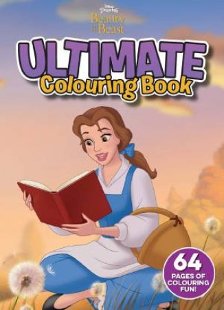 Ultimate Colouring Book: Beauty And The Beast