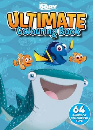 Ultimate Colouring Book: Finding Dory