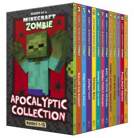Diary Of A Minecraft Zombie: Apocalyptic Collection Books 1 To 13 Boxed Set