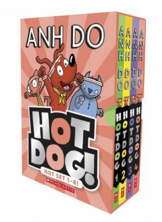 Hotdog! Hot Set 1 to 4! by Anh Do