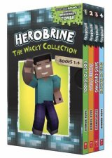 Herobrine: The Wacky Collection Books 1-4 Boxset by Various