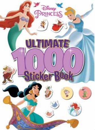 Disney Princess: Ultimate 1000 Sticker Book by Various