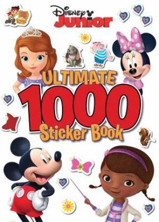 Disney Junior: Ultimate 1000 Sticker Book by Various