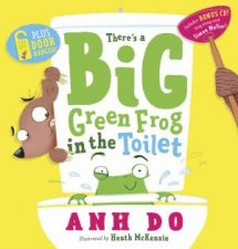 Theres a Big Green Frog in the Toilet  CD with Door Hanger