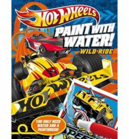 Hot Wheels Wild Ride Paint with Water