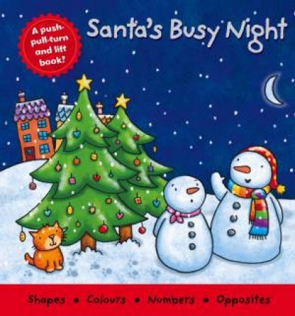Santa's Busy Night Deluxe Board Book by Various