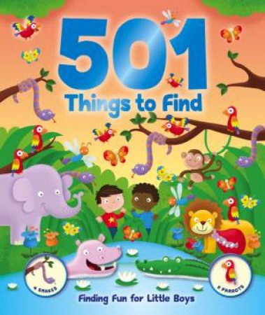 501 Things for Little Boys to Spot by None