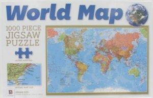 1000 piece jigsaw puzzle world map by none 9781743529812 1000 piece jigsaw puzzle world map by none gumiabroncs Gallery