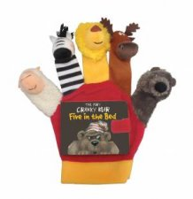 Very Cranky Bear Five in the Bed with Hand Puppet
