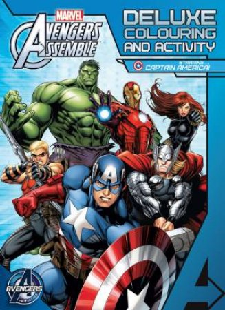 Avengers Assemble: Deluxe Colouring and Activity Book  by Various