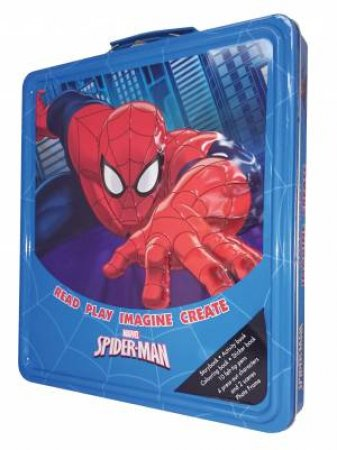 Marvel Spiderman: Read, Play, Imagine, Create Deluxe Tin