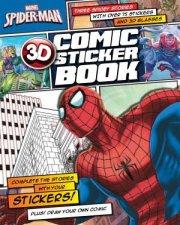 Marvel SpiderMan 3D Comic Sticker Book