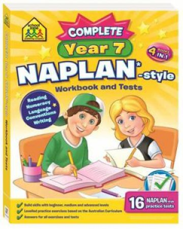 Naplan*-Style Workbook and Tests: Complete Year 7 by Various
