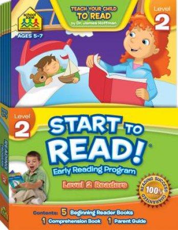 School Zone Start to Read! Early Learning Program Level 2