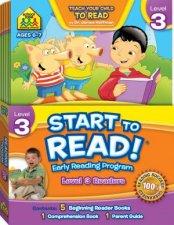 School Zone Start to Read Early Learning Program Level 3
