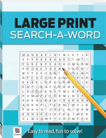 Search-A-Word 3 (Blue) by Various