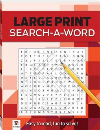 Search-A-Word 2 (red) by Various