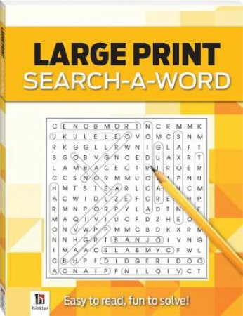Search-A-Word 1 (Yellow) by Various