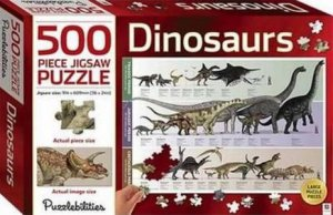 Puzzlebilities 500 Piece Jigsaw Puzzle: Dinosaurs by Various